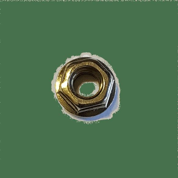 M6 Flanschmutter DIN 6923