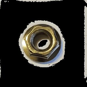 M8 Flanschmutter DIN 6923