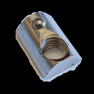M10 Nutenstein für 10 mm Nut einschiebbar mit Kugel